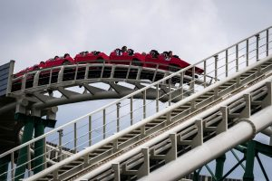 Red Falcon • Jet Coaster • Hirakata Park