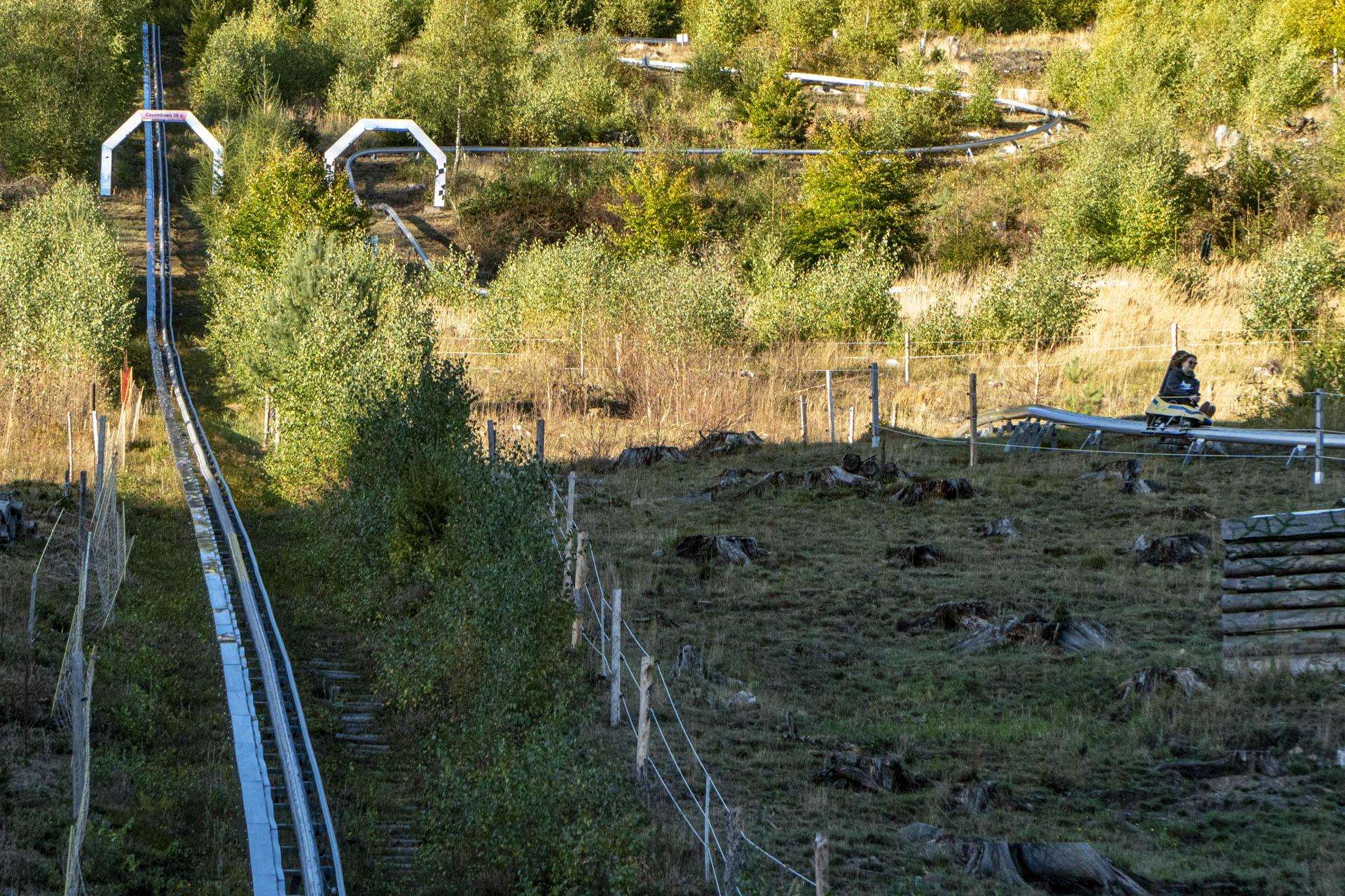 Erlebnis-Rodelbahn Ruhla • Brandauer Mountain Coaster